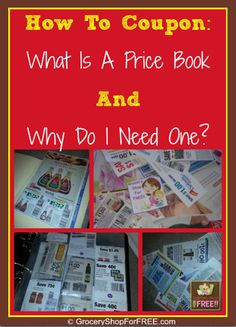 How To Coupon:  What Is A Price Book And Why Do I Need One? So far we have discussed: 10 Places To Find Coupons! 5 Ways To Organize Coupons! 6 Things You Should Know About Your Store's Coupon Polic...