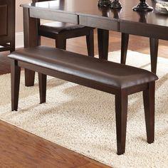 Steve Silver Furniture Victoria Wood Bench