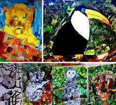 Kunst og håndverk på Fjellhamar skole: august 2014
