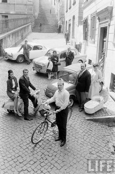 European Prosperity - Italian Style (Mark Kauffman. 1960)