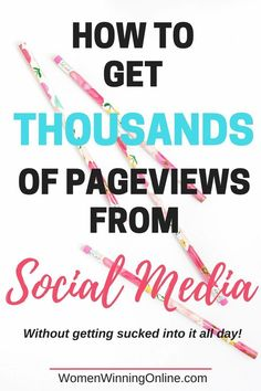 Do you want more blogging traffic from social media? Yes! Click through to find my top tips to get blog traffic from social media!