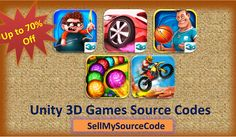 #gamedev #Unit3D game source codes with amazing discounted price..!!