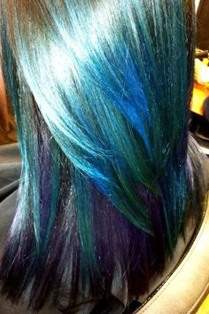 Mermaid Colors Made Possible Thanks To Joico Hair Products Gorgeous Color
