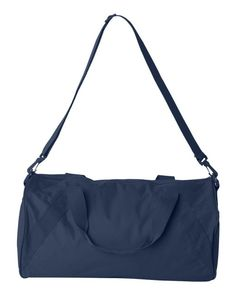 22f0323e8a Navy Recycled Small Duffle Gym Bag Thoughtful Christmas Gifts