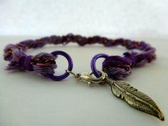 Braided Chain Friendship Bracelet by CraftsbyBrittany on Etsy, $7.00