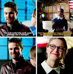 Oliver in #LegendsofTomorrow #Season2 #2x07 - Crossover Part 3!