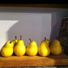Pears contain 15% of your daily recommended amount of fiber. You have to eat the skin though, don't peel!