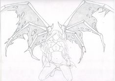 Fallen Angel Drawing - One_Condition & 2015 - Jun 3 2011 Angel Outline, Fallen Angel Tattoo, Anime Angel Girl, Hd Wallpaper Android, Angel Drawing, Tattoo Outline, Manga, Drawings, Jun