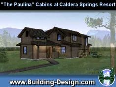 http://youtu.be/Q4svAdrvPfs Paulina Cabin House Plans at Caldera Springs Resort Central Oregon. Visit http://www.building-design.com to see all of our home plans. We are building designers working in Bend & all of Oregon.  You will experience the rustic elegance of the open spaces in a relaxing environment that feels like how home is supposed to feel.  (Tell them Western Design sent you.)  There are 2 plans available a  3 bedroom / 3 bath / 1,320 sq. ft.  4 bedroom / 4 bath / 1,484 sq. ft.