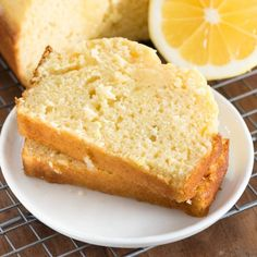 Lemon Quick Bread - this easy quick bread recipe is bursting with lemon flavor. It's the perfect bread for breakfast or dessert!