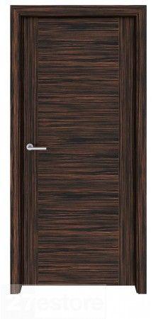 A stylish and modern door solution   #doors #ebony #home