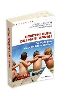 prieteni buni dusmani aprigi Michael Thompson, Parenting Books, Modul, Baseball Cards, Cover, Slipcovers