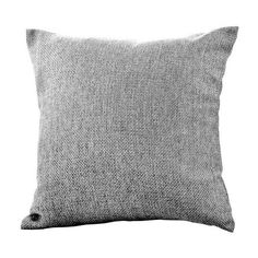 Barkweave Cushion | Dunelm - in Charcoal (Grey)