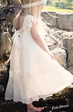 Lovely dress for flower girl