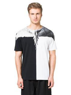 Marcelo Burlon Fall 2016 T-shirt: Lagunas Bravas monochrome Fall Winter, Man Shop, Fall 2016, Monochrome, Mens Tops, T Shirt, Fashion, Supreme T Shirt, Moda