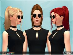 [Enrique] Lilith Hair• Works with hats  • This hair is available from teen to elder.  • It´s Base Game Compatible.  • 18 Colors by EA.  • Maxis Match Hair.  • Please tagme as enriques4 if you get to use this hairstyle on your sim to view