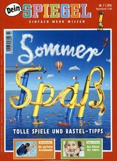 Sommer-Spaß. Gefunden in: Dein SPIEGEL - epaper, Nr. 7/2016