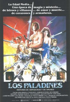 I Paladini. Storia d'Armi e d'Amori (Los Paladines) (1983)