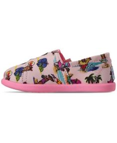 a2cc373612cc Skechers Toddler Girls' Lil' Bobs Solstice 2.0 Playa Pups Slip-On Casual  Sneakers