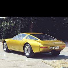 Opel GTW Geneve Concept 1975