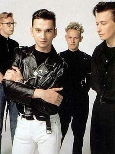 DM Concert for the Masses promotional photo. June 1988.