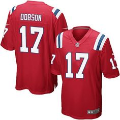 52e137c0aee NFL New England Patriots Aaron Dobson Youth Limited Alternate Red #17 Jersey