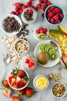 Add + mix any toppings you want || Coconut Chia Breakfast Pudding