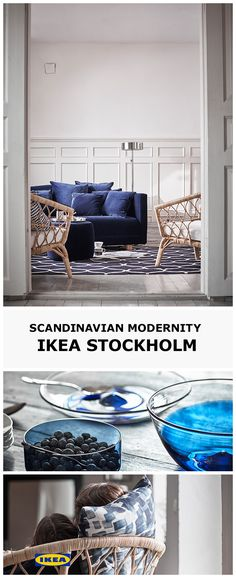 Introducing the IKEA 2017 STOCKHOLM Collection. Each piece of the collection is a celebration of enjoying life at a slower pace by thinking through all of the details and savouring the design process. Quality cannot be rushed. Natural, tactile materials and craftsmanship by skilled hands all take time to grow and perfect themselves - this is the result. Find out more about STOCKHOLM on IKEA.co.uk