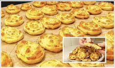 Ak máte doma 1 cibuľu, vajce a kúsok syra, môžete si pripraviť túto pochúťku: Najrýchlejšie a najchutnejšie teplé predjedlo! Muffin, Pizza, Cookies, Breakfast, Desserts, Food, Basket, Crack Crackers, Morning Coffee