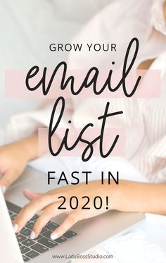 Explode your list with the top Opt-in Freebies that you can create today! Start growing your email list to ensure sustainability for your business!