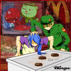 flippy happy tree friends gif - Google zoeken