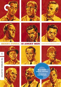 Cover for the Criterion Collection release of 12 Angry Men, with art by Sean Phillips. Big fan of his work on both Ed Brubaker's Criminal and Sleeper series.