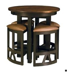 Pub Style Table And Chair Set Ergonomic Bahrain 7 Best Dining Sets Images Room Tables Amish Chairs Bar Height High Stools Modern Solid Wood New