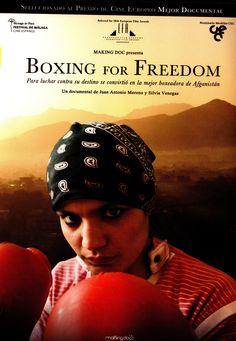 BOXING FOR FREEDOM. Sadaf Rahimi es la mejor boxeadora de Afganistán pero debe enfrentarse a las tradiciones de su país, al miedo y a su propio destino para ser una mujer libre. Ella y su hermana se unieron al recién creado equipo de boxeo femenino de Afganistán con 13 años cuando regresaron a su país después de estar refugiadas en Irán. Sus éxitos en el boxeo y en los estudios la convertirán en un referente para muchas jóvenes afganas pero su camino no estará exento de amenazas y…