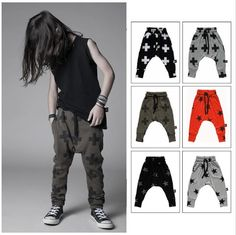 Cheap harem pants jumpsuit, Buy Quality pants design directly from China pants men Suppliers: KIKIKIDS Unisex NUNUNU Cross & Star Pattern Pants W/ 6 colors Toddler Clothing,Kids Girls & Boys Harem Pants With High W