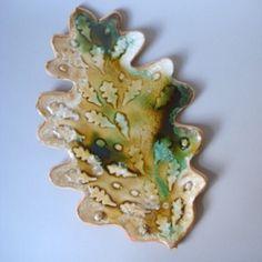Kate Malone: A Large Fossil Oak Leaf, 2007
