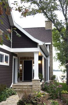 Popular Exterior House Paint Colours Design Ideas, Pictures, Remodel, and Decor - page 15