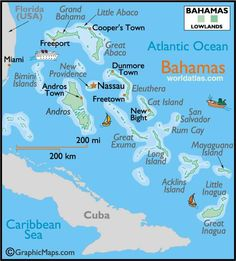 map of exumas bahamas - Google Search