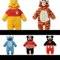#Halloween is coming next month. Those #cute #costumes of #winniethepooh or #tigger or #stitch or #minnie or #mickey will look adorable on your little #baby. Order yours now for only $15 each!