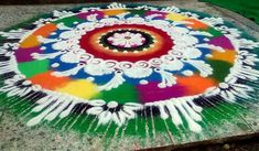 Here are rangoli designs that you need to see before this festive season. These simple, easy rangoli designs are colourful and extremely beautiful. Best Rangoli Design, Easy Rangoli Designs Diwali, Colorful Rangoli Designs, Diwali Rangoli, Rangoli Designs Images, Beautiful Rangoli Designs, Simple Rangoli, Diwali Pictures, Diwali Pics