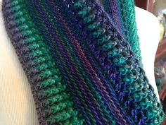 What an interesting looking pattern! It's crochet, even though it looks like a knitted project! I Got the Blues Infinity Scarf by Pamela Rappaport is a gorgeous cowl with a magnificent design and a stunning choice of colors. This lovely project very intricate looking is a really fast and easy project that will make a …