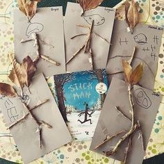 Oh, stick man! Who else loves this Julia Donaldso-Stick man! Oh, stick man! Who else loves this Julia Donaldson classic? Oh, stick man! Who else loves this Julia Donaldson classic? Forest School Activities, Eyfs Activities, Nursery Activities, Nature Activities, Learning Activities, Preschool Activities, Gruffalo Activities, Steam Activities, Outdoor Education