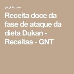 Receita doce da fase de ataque da dieta Dukan - Receitas - GNT