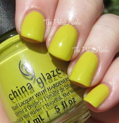 The PolishAholic: China Glaze Spring 2015 Road Trip Collection Swatches & Review - Trip of a Lime Time
