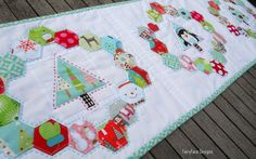 Table runner 2 by Sarah @ FairyFace Designs on Flickr.