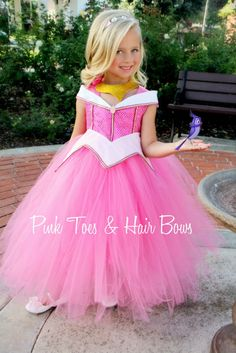 Sleeping Beauty Tutu dress Sleeping beauty Aurora door GlitterMeBaby