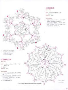 ISSUU - Crochet flower doily by vlinderieke