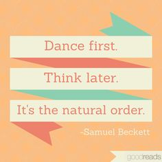 Follow the natural order whenever possible.