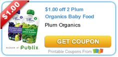 Tri Cities On A Dime: SAVE $1.00 ON 2 PLUM ORGANICS BABY FOOD