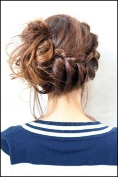 Groovy Beautiful Updo And My Hair On Pinterest Hairstyles For Women Draintrainus